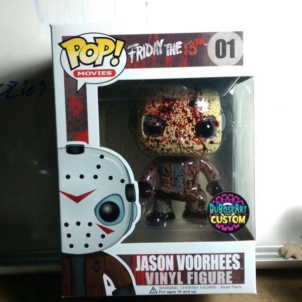 Custom Funko Pop Bloody Jason Voorhees