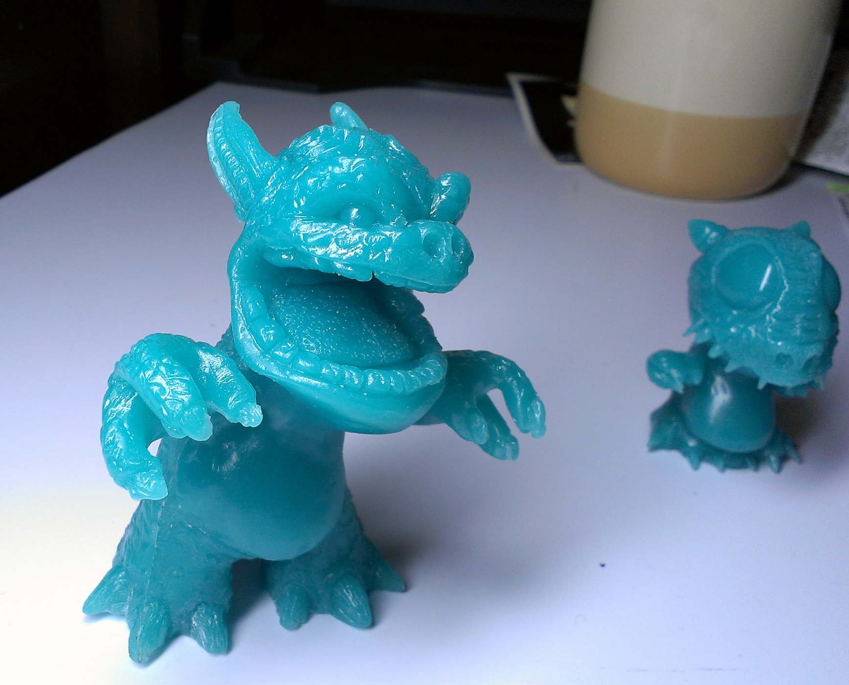 New Items! Rawwrz! and Splinters The Baby Dragon