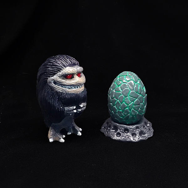 Limited Edition Painted Critters, 5.25in Critter funding drive!
